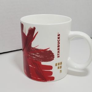 Starbucks Mug 2014 Abstract Floral Splash 12oz